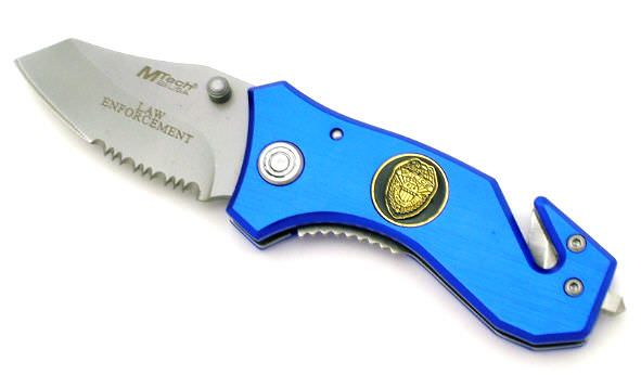 M-Tech Law Enforcement Rescue Knife MT349BL