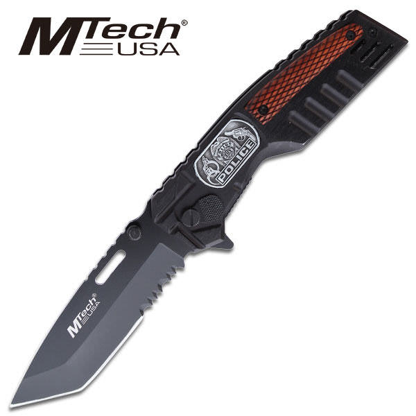 M-Tech Police Tanto Pocket Knife MT273PD