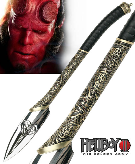 HellBoy II The Golden Empire Nuada's Spear 30""