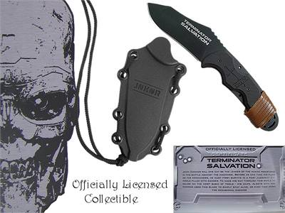 Terminator 4 Salvation Knife 8""