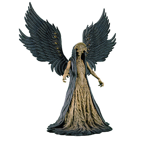 Hellboy II The Golden Army Angel of Death Deluxe Figure 10""