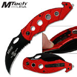 MTech Fire Liner Lock Knife