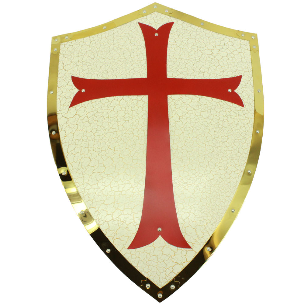 Medieval Crusader Battle Shield