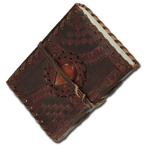 Medieval Dragons Eye Journal - Brown