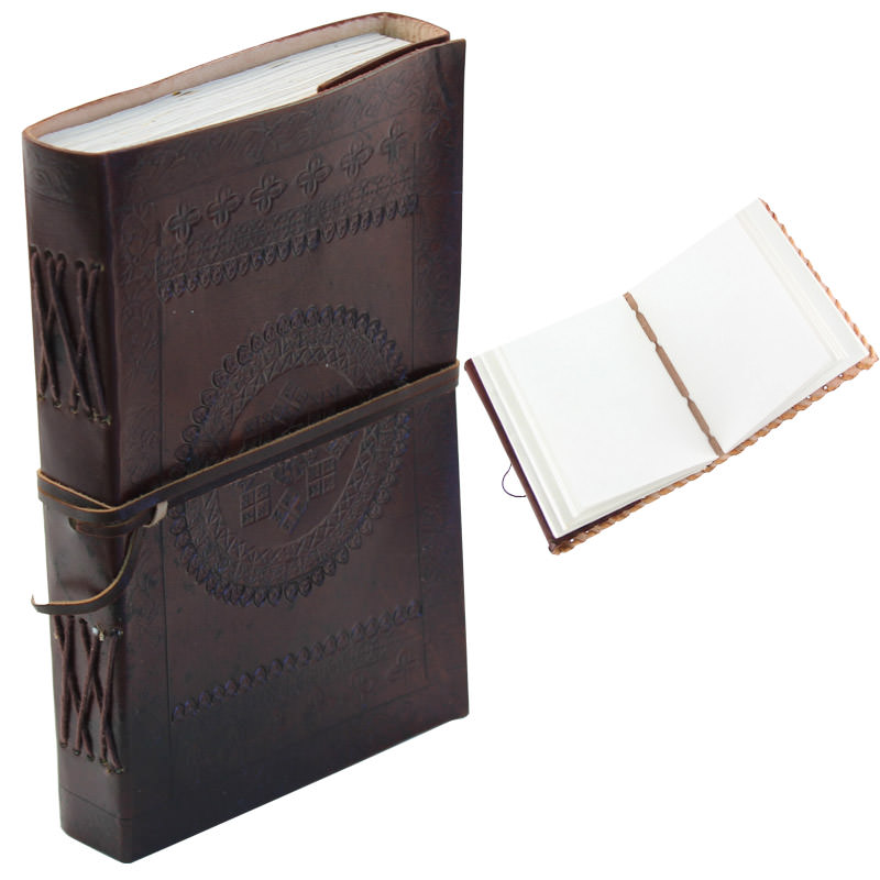 Medieval European Handmade Leather Diary 