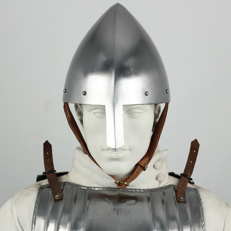 Medieval Norman Nasal Helmet 