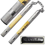 Wood and Steel Martial Arts Nunchaku 13""
