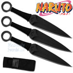 Naruto - Kunai Throwing Knife (Set of 3) 6 1/2""
