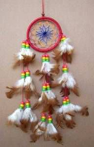 Native American 3 Dream Catcher 3175
