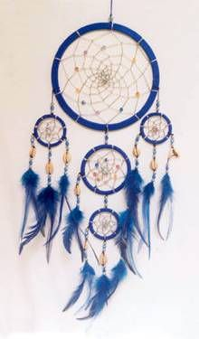 Native American 6x19in Dream Catcher 3740