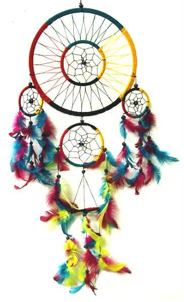 Native American 8in Dream Catcher 2906