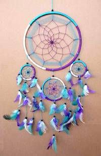Native American 8in Dream Catcher 3168