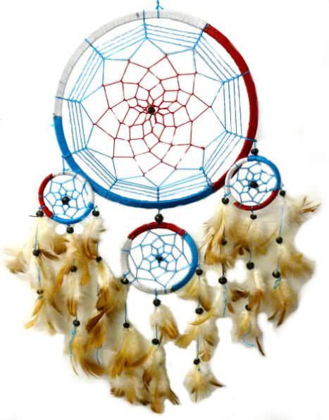 Native American 8in Dream Catcher 3169