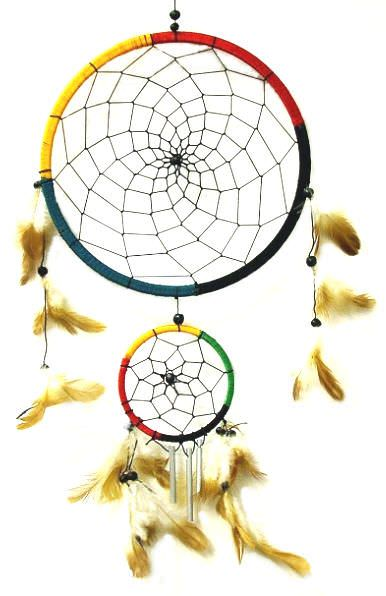 Native American 9in Dream Catcher 2878