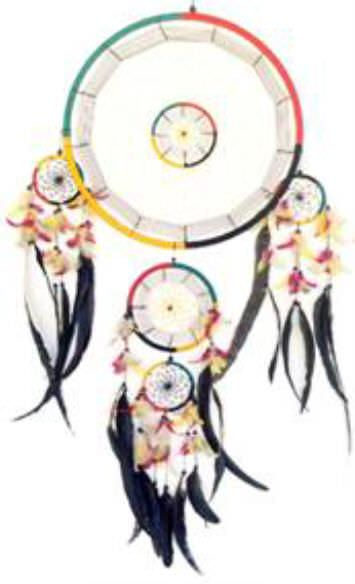 Native American Giant 16in Dream Catcher 2903