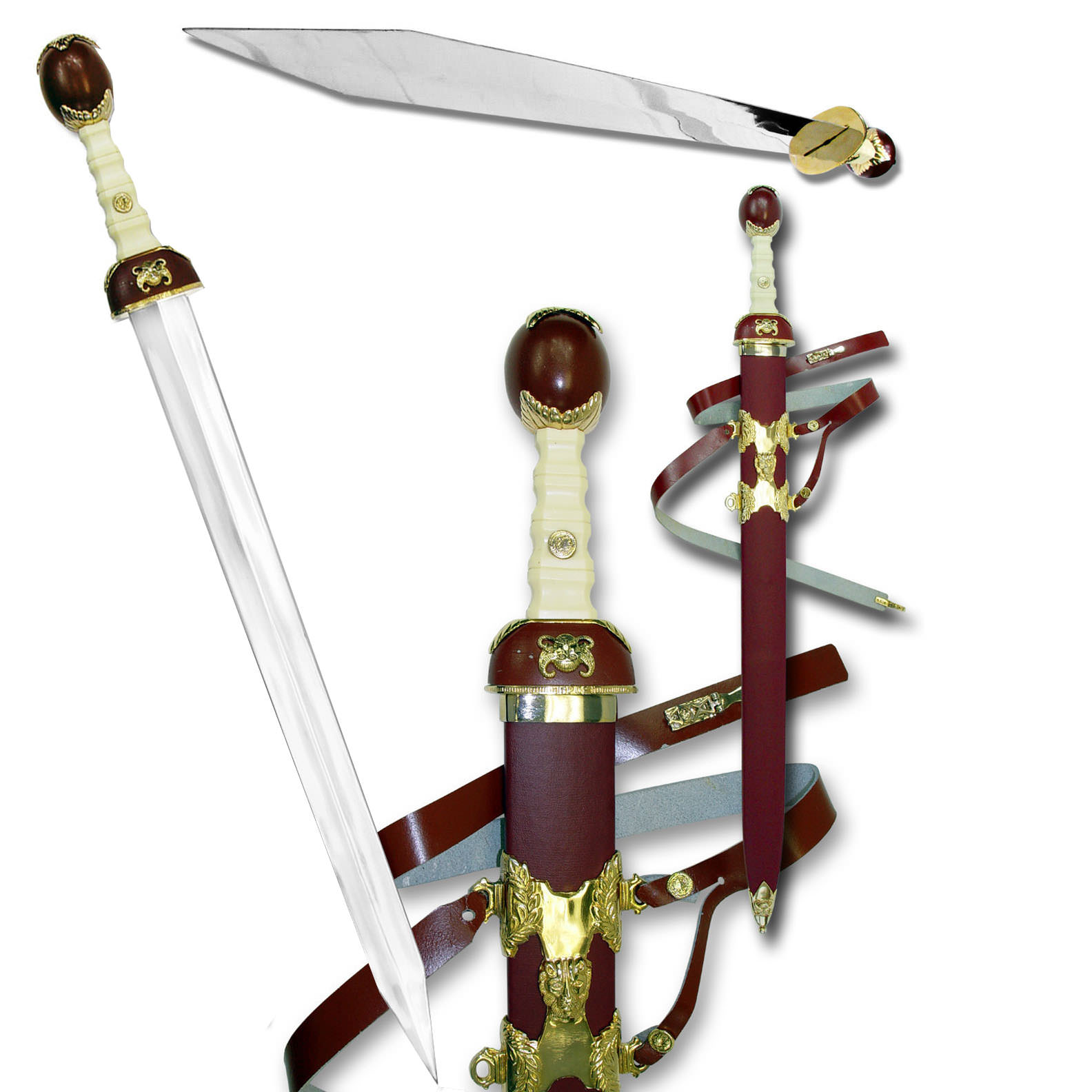 Gold Gladiator Sword 39""