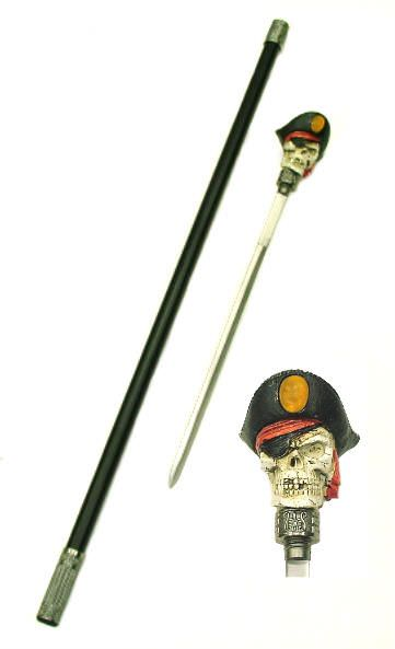 Pirate Skull Sword Cane SW3113