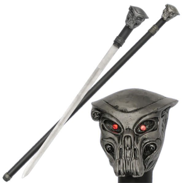 Predator Lighted Sword Cane AZ65