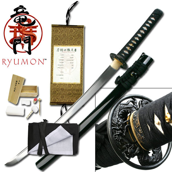 Ryumon - Royal Dragon Wakizashi 32 1/2""