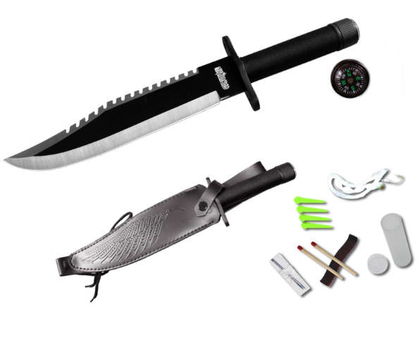 Rambo Style Survival Knife SUR521