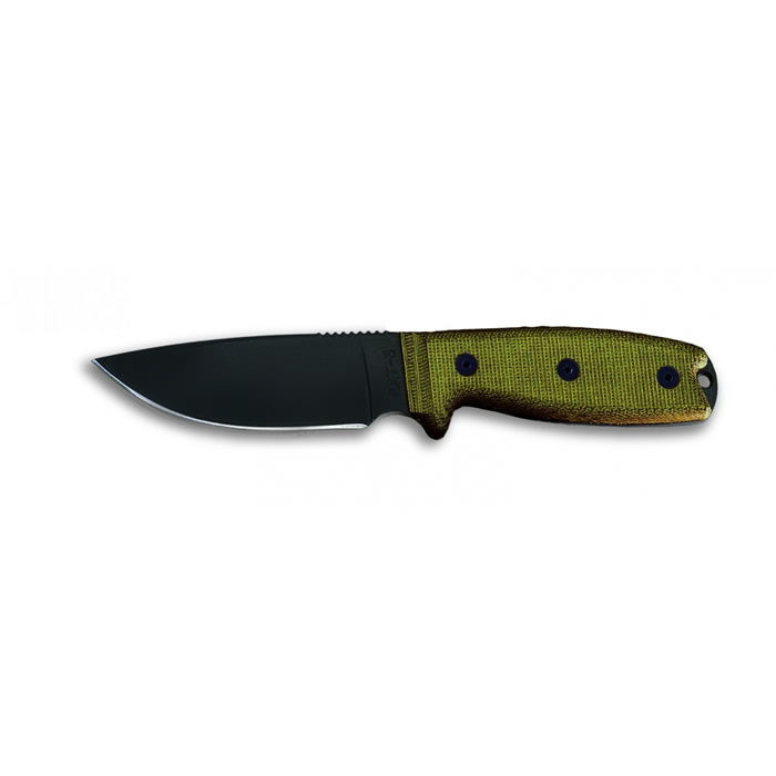 Rat 3 1095 Green Sheath Razor Edge