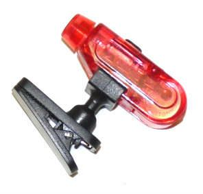 Red Clip on LED Super Bright Finger Light FL3404RD