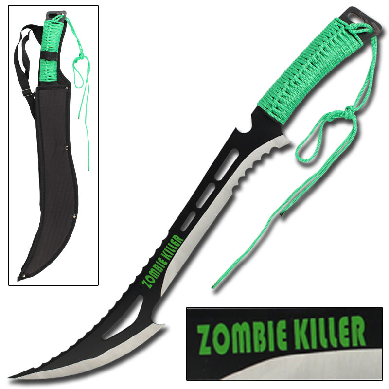 Renegade Zombie Killer Machete