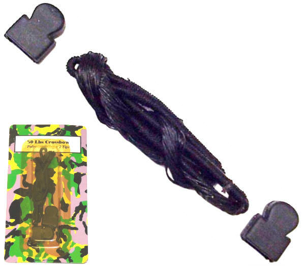 Replacement String & Tips for 50lb Crossbow MK50S