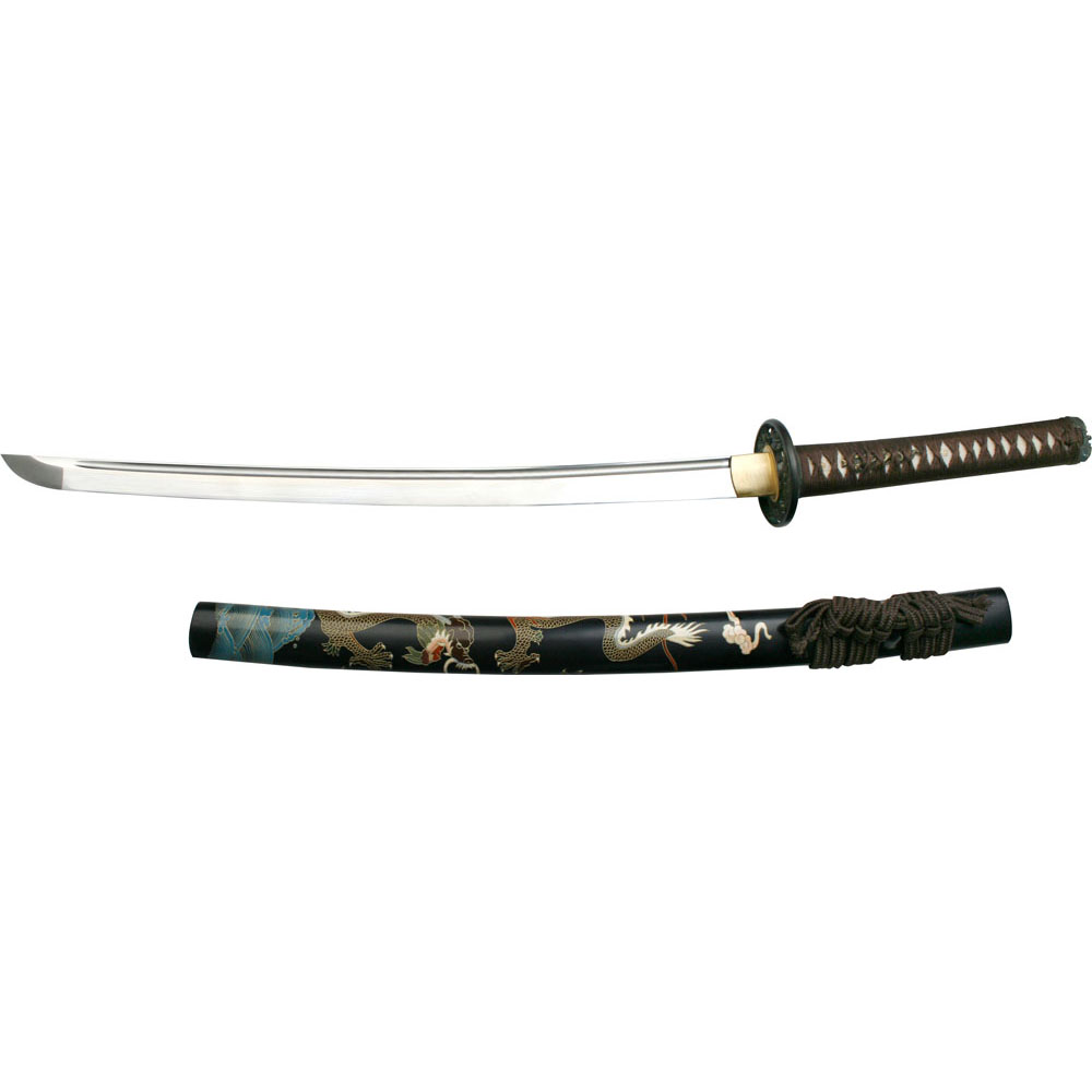 Ryumon Dragon Wakizashi 1060 carbon steel blade 31""
