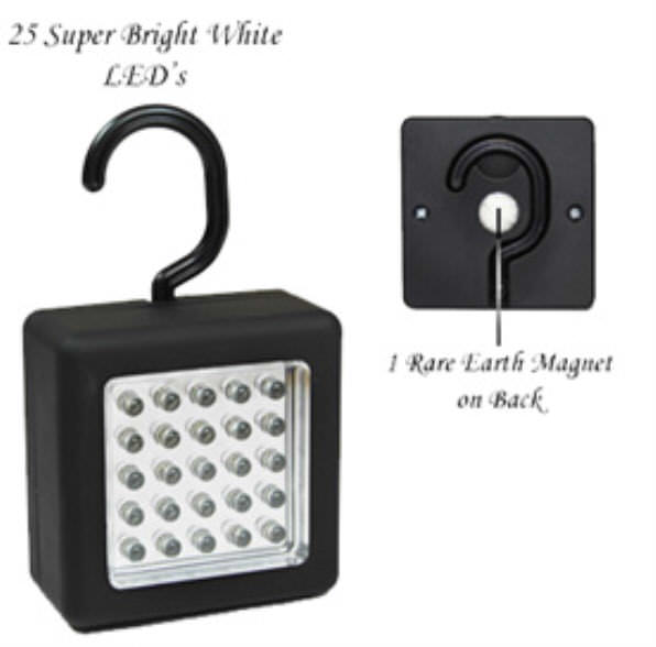 25 LED Work Light Magnetic FL9025WL