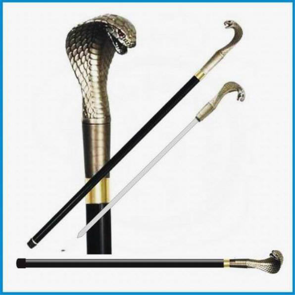 35 in Cobra Head Sword Cane CS104