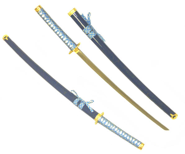 40in Blue Katana K0021-1BL2