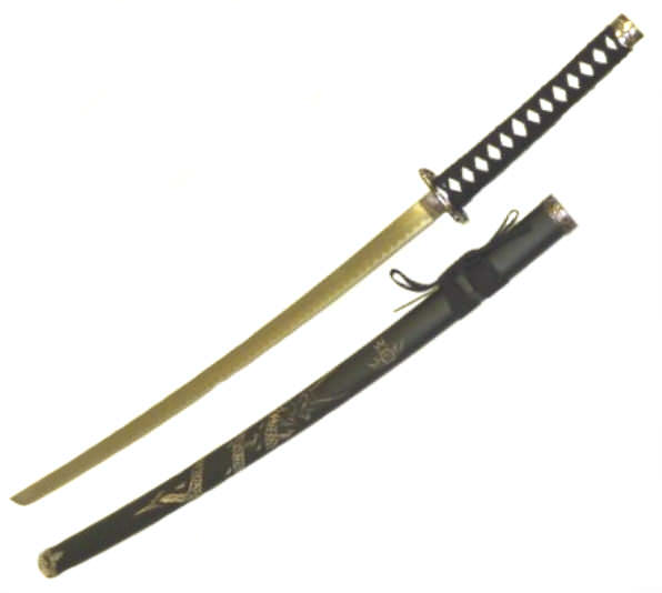 40in Dragon Katana K0021- 1DG
