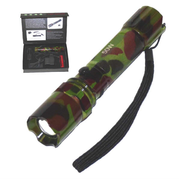 5.0 Watt CAMO Recharageable LED Flashlight FL50WCA