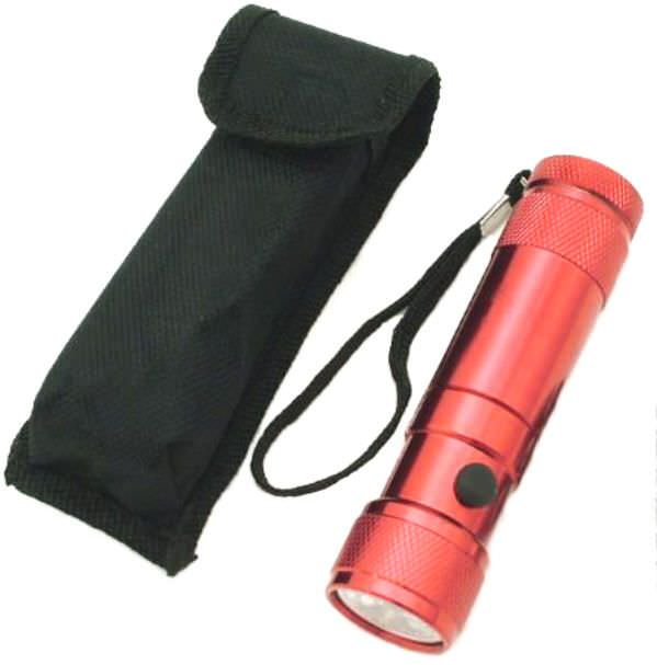 8 Bulb Led / LASER Flashlight FL3092R
