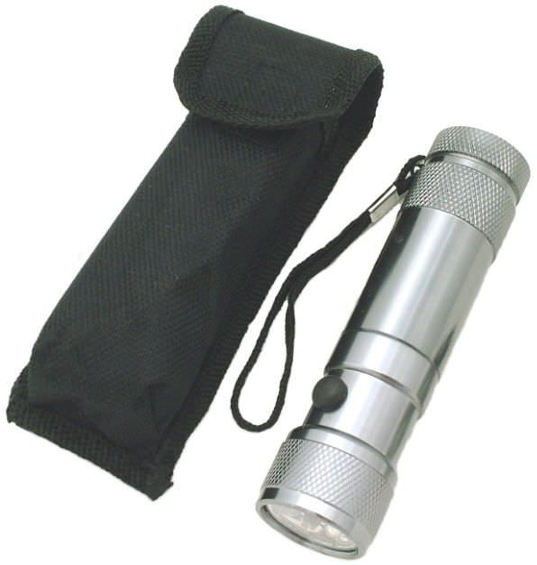 8 Bulb Led / LASER Flashlight FL3092T