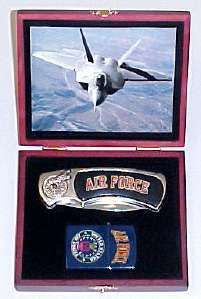 Air Force Pocket Knife & Lighter Box set 902AF