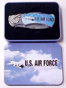 Air Force Pocket Knife in Metal Box PK2020AirForce