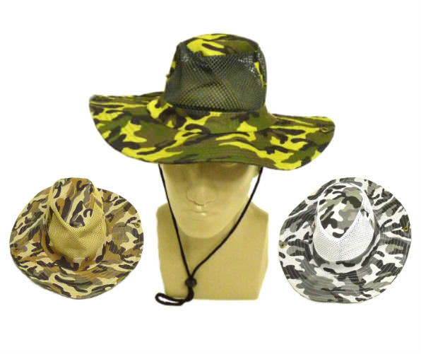 CAMO Mesh Jungle Hats NETHAT