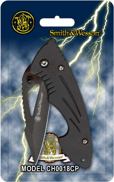 Smith & Wesson Cuttin Horse Knife WSCHoo18CP