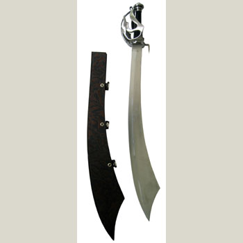 Pirate cutlass with Sheath 29""
