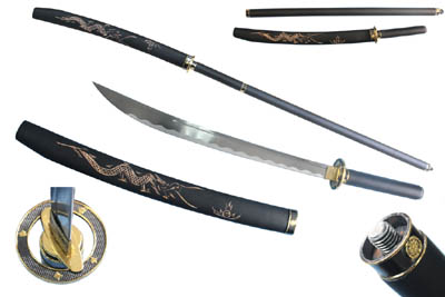 "Naginata 62"" Ninja Sword"