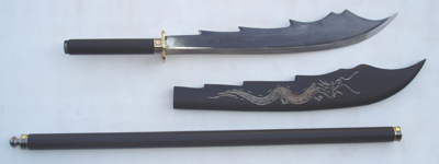"Naginata 62"" Detachable blade and Sheath"