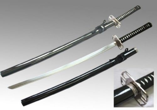 Black Samurai Sword 28""