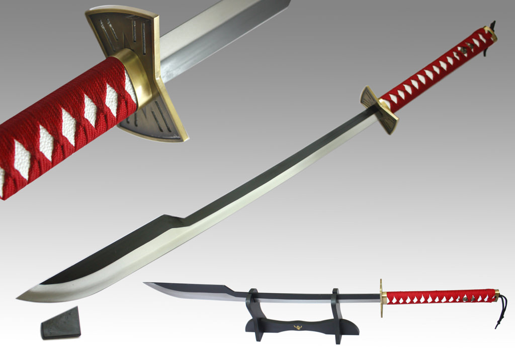 Bleach Sajin Komamura Sword and Stand 37""