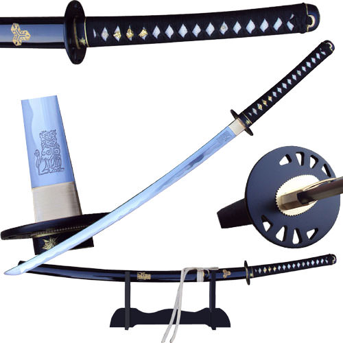 Kill Bill BRIDE Sword Full Tang Battle Ready - Hattori Hanzo Steel 40""