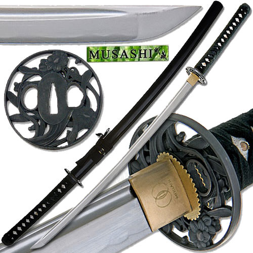 Bushido Musashi - Orient Pearl Handmade Samurai Sword 40&quot;