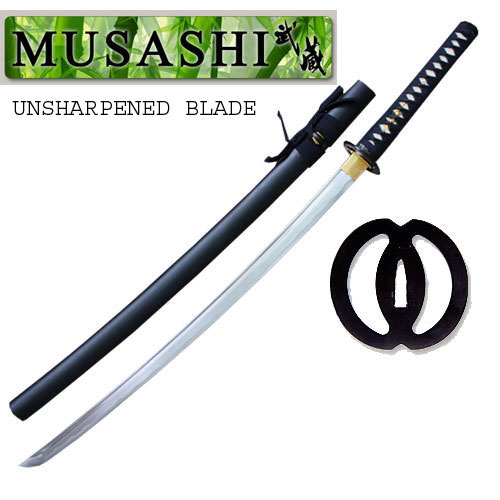 Bushido Musashi - 1045 High Carbon Steel Iaito Katana