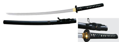 Japanese Shogun Family Crest Honed Razor Sharp Samurai Sword