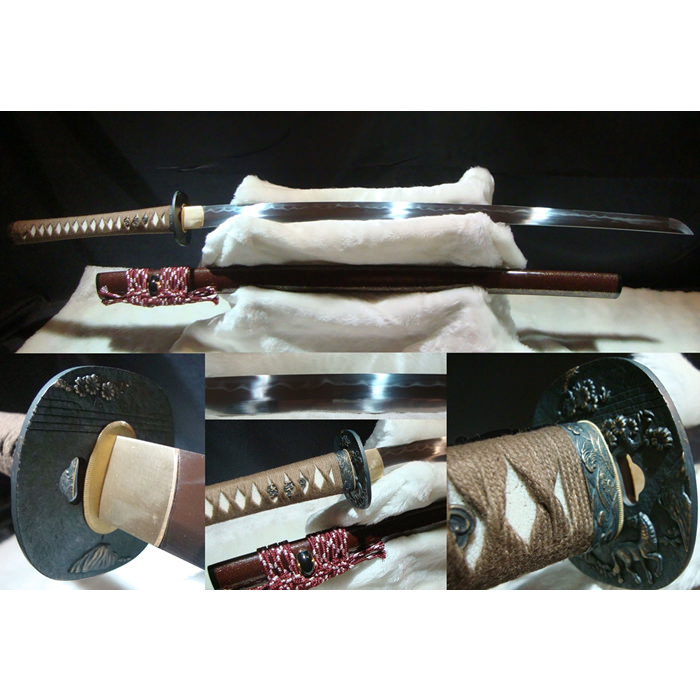 40 1/2&quot; 1060 hand forged samurai sword